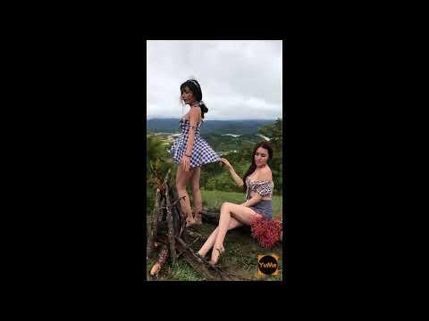 Tuyệt tình cốc Đà Lạt: 2 thiếu nữ mặc như không mặc gây xôn xao cộng đồng mạng (phần 1) - Yume.vn