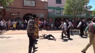 Hickok at the 1st Showdown in Tombstone 8/30/14