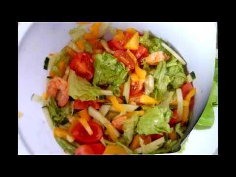 Салат с креветками и кукурузой / Salad with shrimp and cornиз YouTube · Длительность: 1 мин38 с