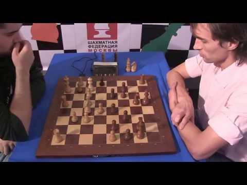 GM Nepomniachtchi - GM Savchenko Boris BLITZ Moscow chess