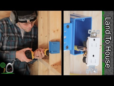 Install Electrical Part 1 - Build a Workshop #21