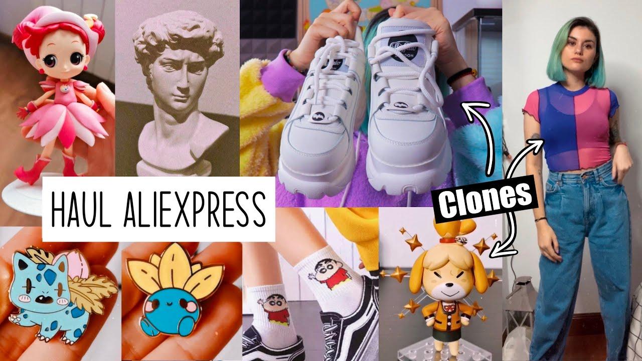 ⚡️ SUPER HAUL de ALIEXPRESS ⚡️ Clones buffalo, dollskill, nendoroids y mucho más!!
