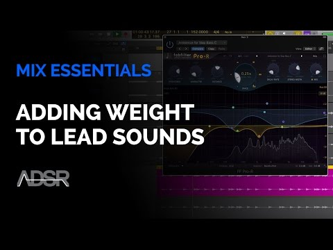 Adding Weight to Lead Sounds