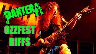 12 Iconic Pantera Ozzfest Riffs That'll Take You Back To The Year 2000