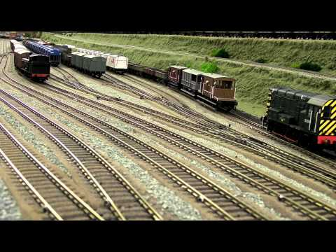 North East model railway - Marshalling Yard Part1