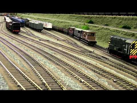 North East model railway – Marshalling Yard Part1