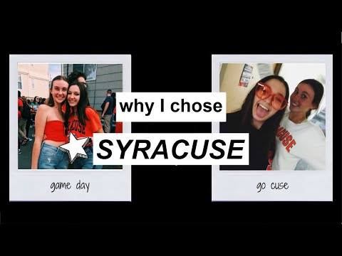 why I chose Syracuse University