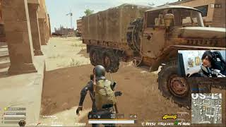 【PUBG】DTN4BRでソロスクアッド[10キル]