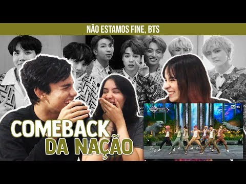 BTS - IDOL/Save Me/I'm Fine (Comeback Show)   Reaction