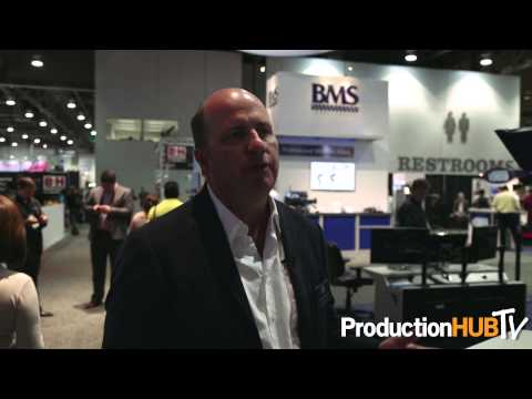 NAB Show 2014 Production Hub Interview with David Wells discussing career advancement