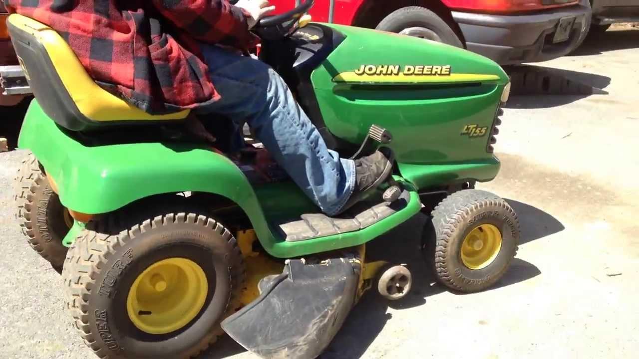 John Deere Lt155 Riding Mower