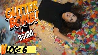 GLITTER BOMB BDAY PRANK w/ Tessa Brooks (Is Tesstan Real?!)