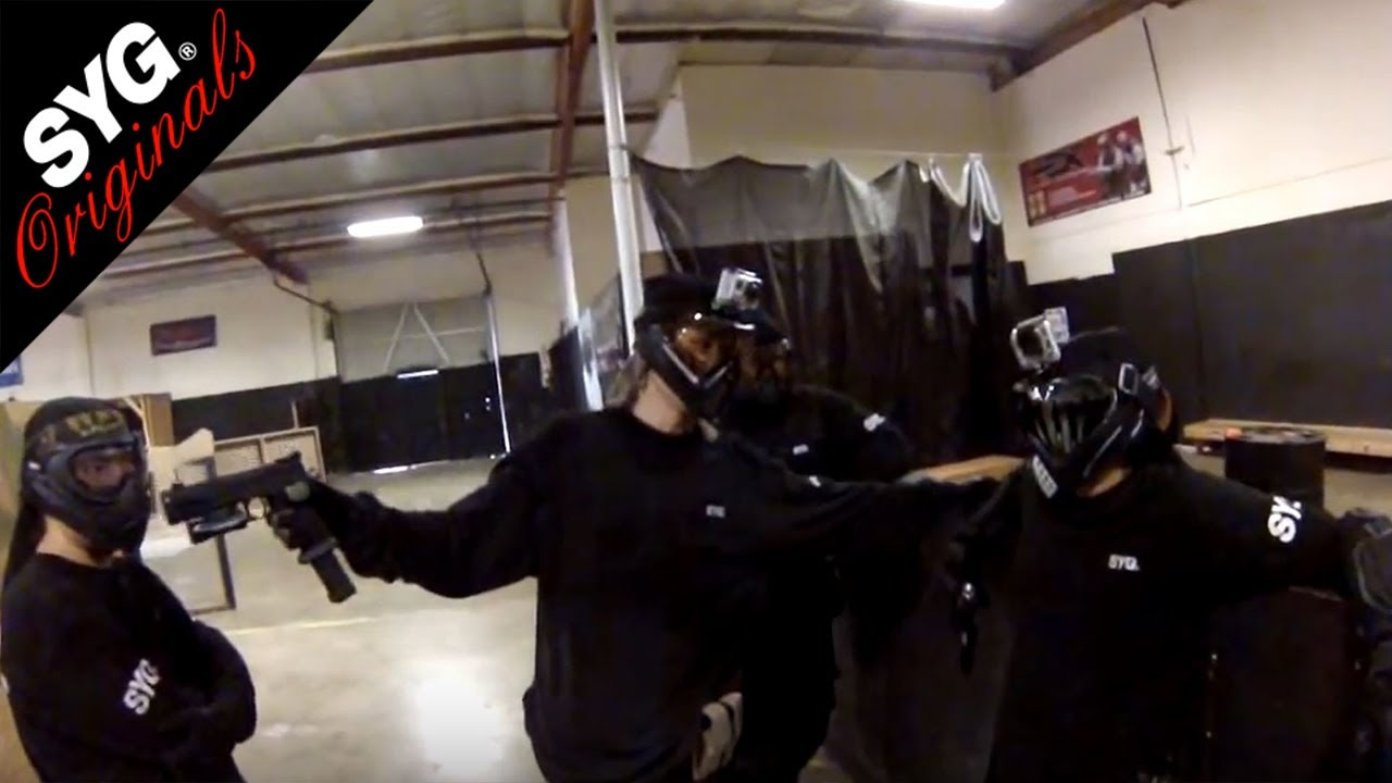 Ep. 14: Slide Montage - SYG Airsoft - One of the styles SYG is known for is sliding.