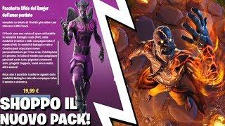 HO SHOPPATO IL NUOVO PACK & TORNADO DI FUOCO! ⛏️ Fortnite Battle Royale - Pazzox