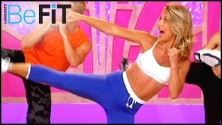 Denise Austin: Kickboxing Cardio Fat Blast Workout