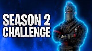 DIE SEASON 2 CHALLENGE! ⚔️ | Fortnite: Battle Royale