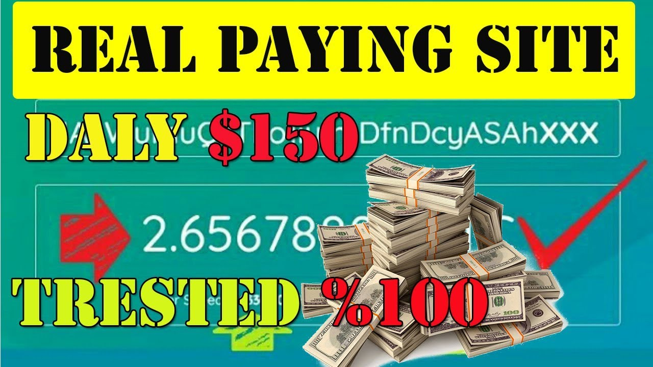 Earn Money Online | Earn Up To $150 Daily Fair Cloud | New Bitcoin Cloud  Mining Real Site