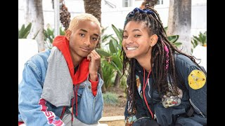 Jaden and Willow Smith - funny/cute moments