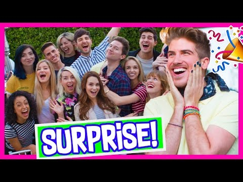 MOST INSANE BIRTHDAY SURPRISE EVER!
