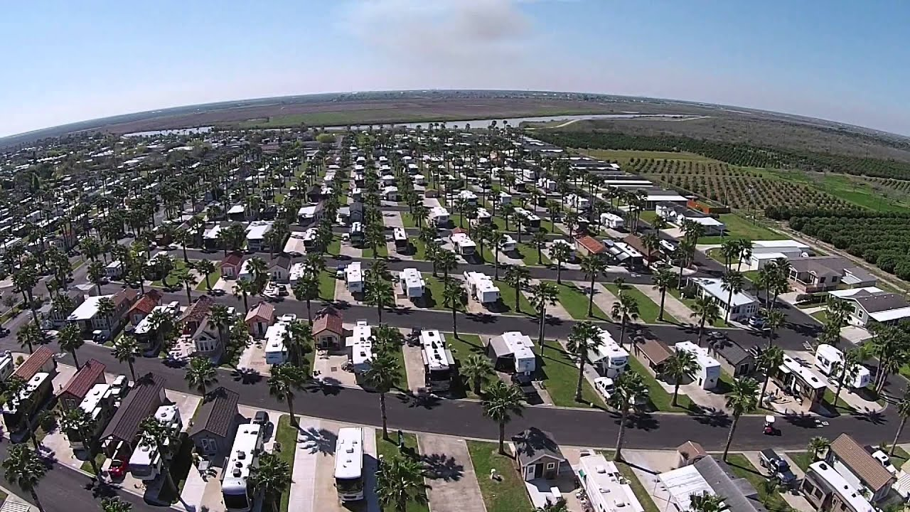 Llano Grande Park Resort North Rv Sites Youtube
