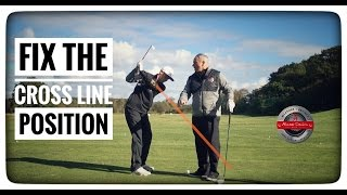How To Fix The Cross Line Position At The Top Of The Swing