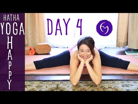 Day 4 Hatha Yoga Happiness: Give it Away! With Fightmaster Yoga