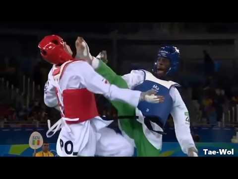 Taekwondo - Axe Kick Highlights | Tổng hợp các đòn đá chẻ trong Taekwondo
