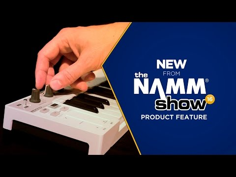 Live at NAMM 2016 - Arturia KeyStep Slim Keyboard