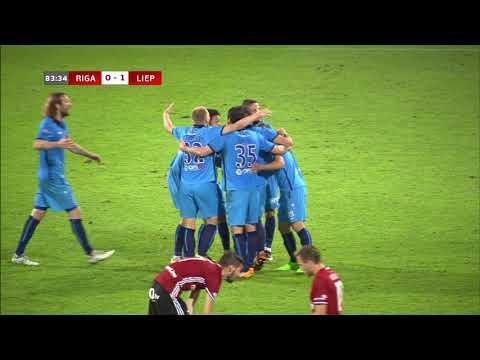 """""""Riga FC"""" 2-1 FK """"Liepāja Mogo"""" spēles apskats"""