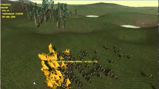 RTS Engine Test - First Implementation of Flying Units