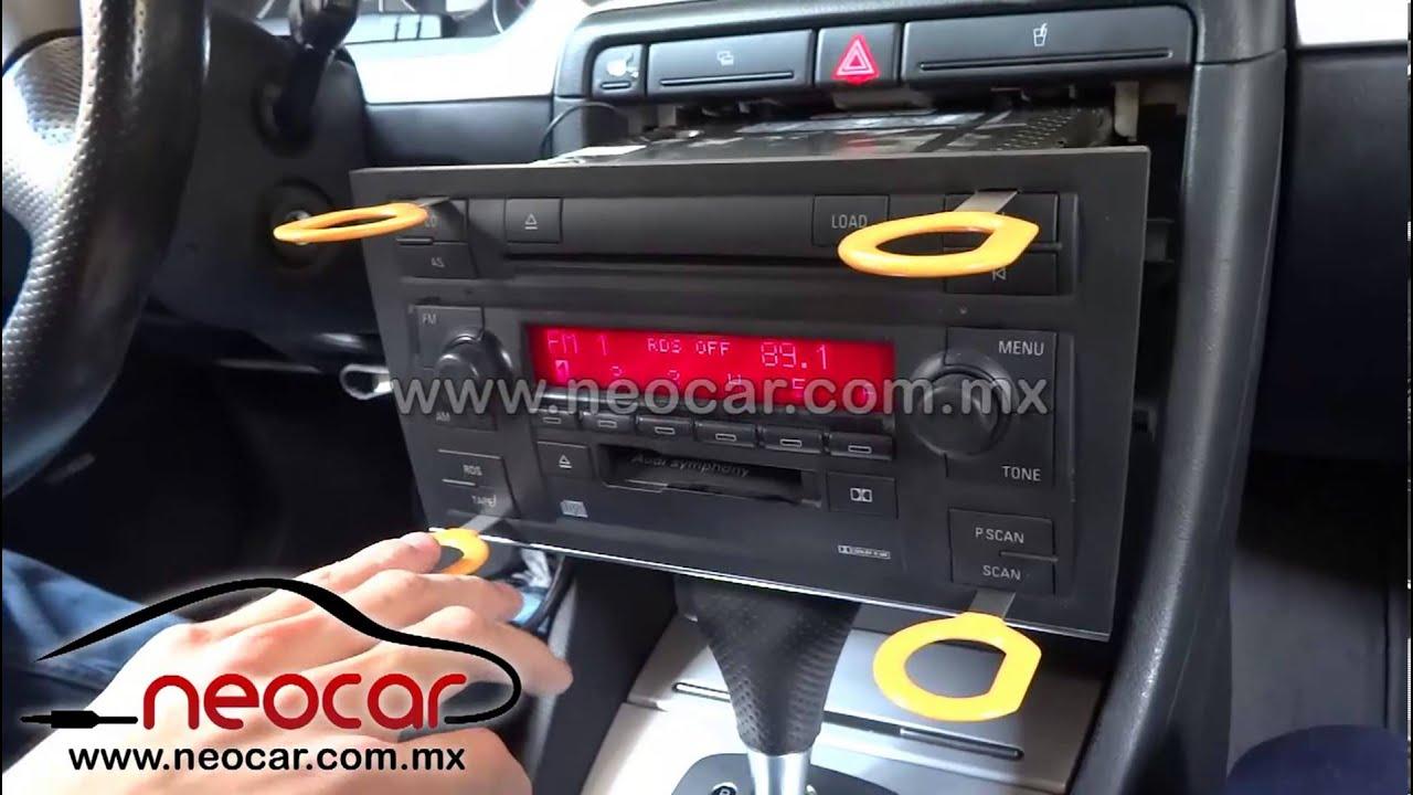 Neocar Adaptador Audi A4 2002 2005 Para Ipod Iphone