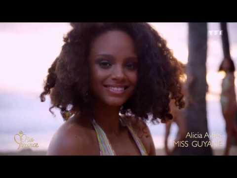 Tous les passages de Miss Guyane lors de la soirée de Miss France 2017