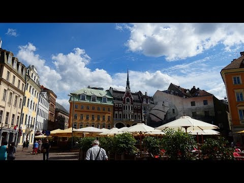 4K True HD/  Riga/Old Riga/ FZ 82 LUMIX/ Panasonic/ Latvia/Baltic countries/ Europe