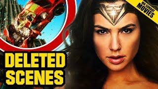 WONDER WOMAN Deleted Scenes & Cancelled Movies
