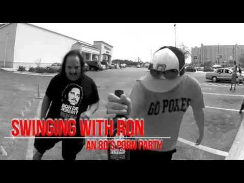 SWINGING WITH RON AN 80'S PORN PARTY