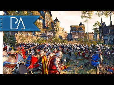 Italian Medieval Siege: Guelphs vs Ghibellines - Medieval Kingdoms Total War 1212AD Mod Gameplay