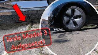 Mein persönlicher Erzfeind im Tesla Model 3 - Die Bodenfreiheit