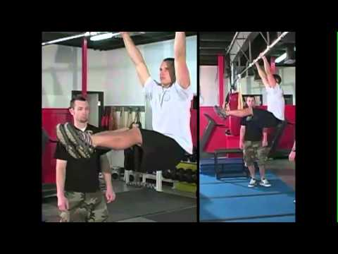 CrossFit - Pull-Up Bar Drills: L-Pull-Up