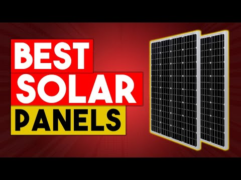 BEST SOLAR PANEL 2020 – Top 5 Best Solar Panels Available On Amazon