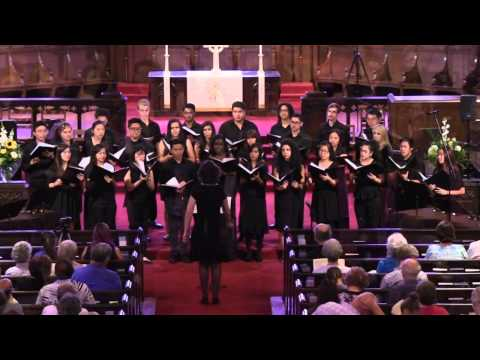 UCR Chamber Singers Concert - Justice Songs - 6/1/2014 - Part 1