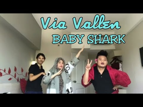 Via Vallen Dance Baby Shark Challenge