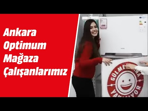 Ankara Optimum Mağaza çalışanlarımız muhteşem bir klip!