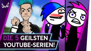 Die 5 GEILSTEN YouTube-Serien! | TOP 5