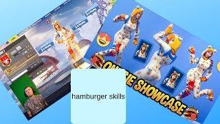 fortnite hamburger skin