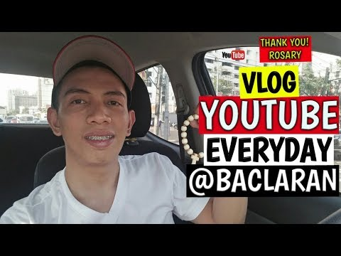 THE BIGGEST COMEBACK | EVERYDAY VLOGGING | BACLARAN CHURCH | ROSARY | VLOG #029 2019