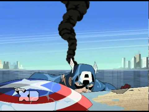 Living Legend Captain America - The Avengers: Earth's Mightiest Heroes!
