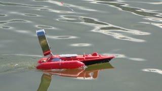 Кораблик для підгодовування Торнадо 5 (T10-A) з ехолотом Lucky FFW718