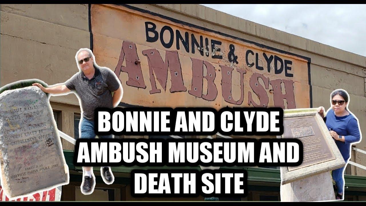 BONNIE & CLYDE AMBUSH MUSEUM+ DEATH SITE | MUST SEE!