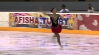 9 Rika HONGO (JPN) - ISU JGP Minsk 2013 Junior Ladies Short Program.