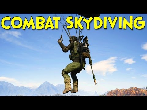 Combat Skydiving! - Ghost Recon Wildlands